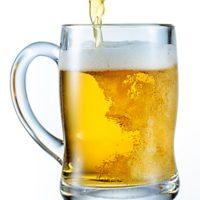 Osviežujúce svetlé pivo