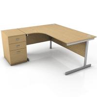 Srdce kanceláře je pracovní stůl