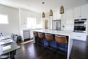 Dizajn kuchyne s obývacou časťou